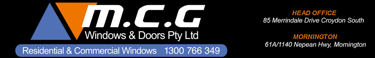 MCG Windows & Doors Logo